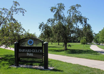 Karma Yoga Center: Harvard Gulch Park: Yoga Classes in the Park